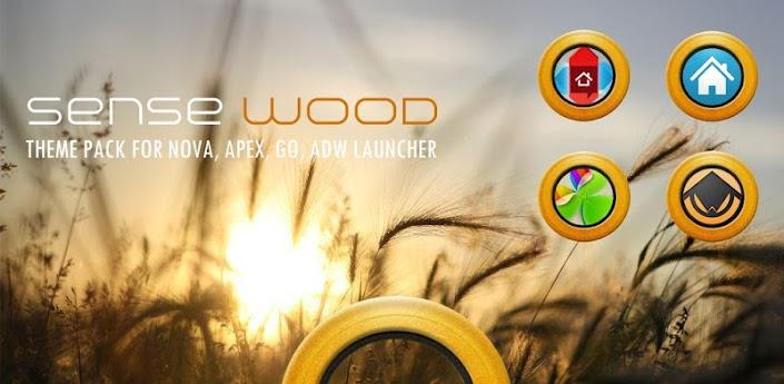 Sense Wood Theme Pack
