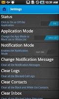 Screenshot of CallBlock Pro