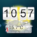 14 days Weather Flip Clock PRO icon