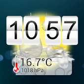 14 days Weather Flip Clock PRO