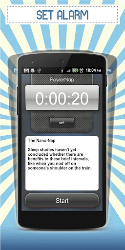 Power Nap Alarm