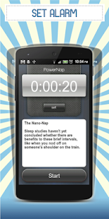 Power Nap Alarm- screenshot thumbnail