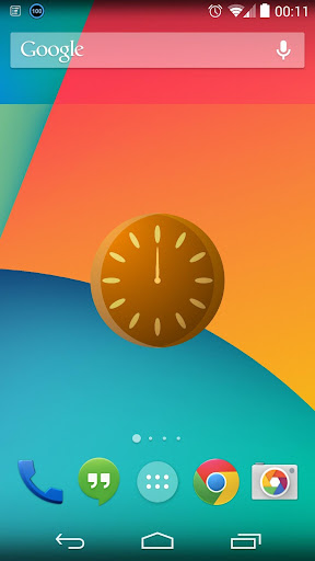 Continuance Clock Widget