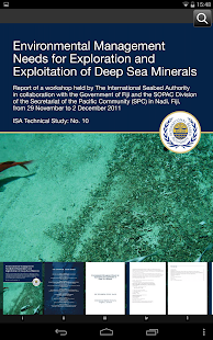 International Seabed Authority- screenshot thumbnail