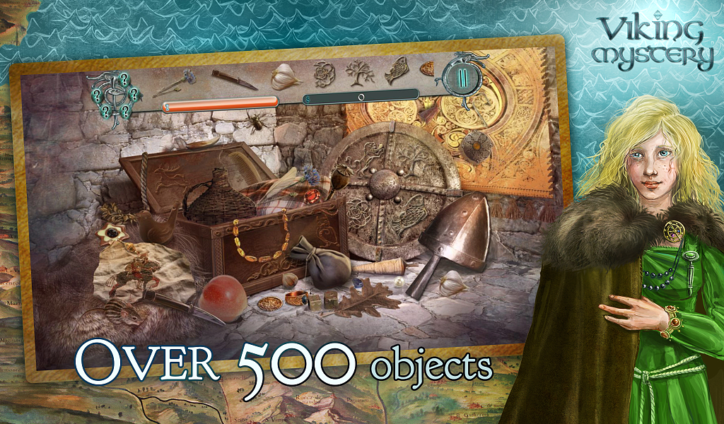 Hidden Object - Viking Mystery- screenshot