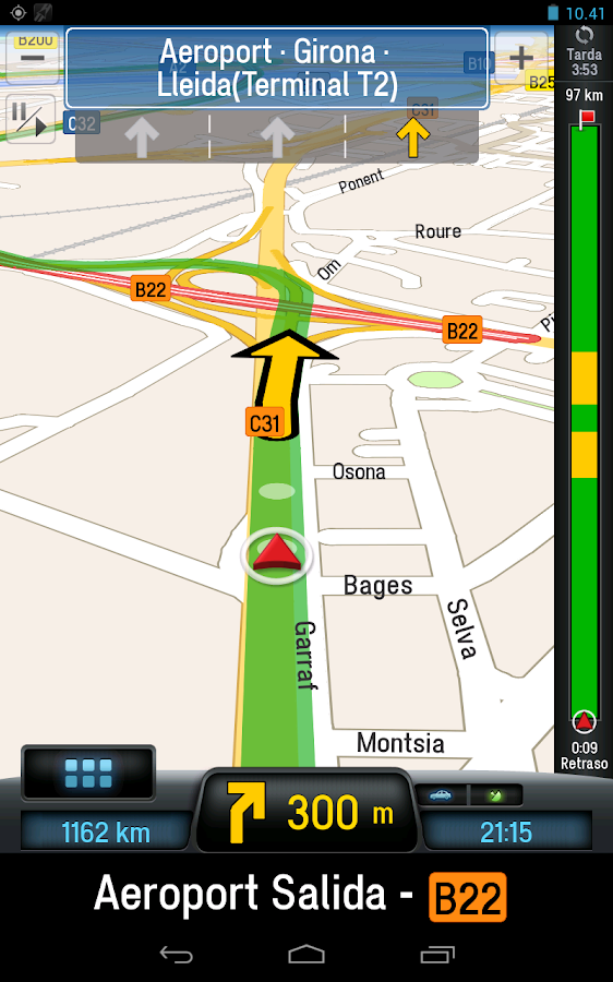 CoPilot Premium UK+Ireland GPS - screenshot