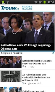 Trouw.nl Mobile- screenshot thumbnail
