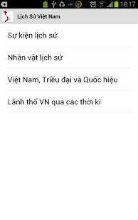 Lịch sử Việt Nam- screenshot thumbnail