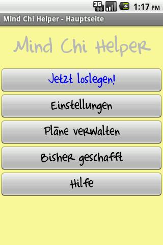 Mind Chi Helper