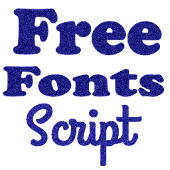 Script Fonts for FlipFont