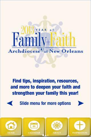 Year of Family Faith