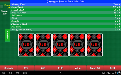 【免費紙牌App】GKproggy Video Poker Free-APP點子