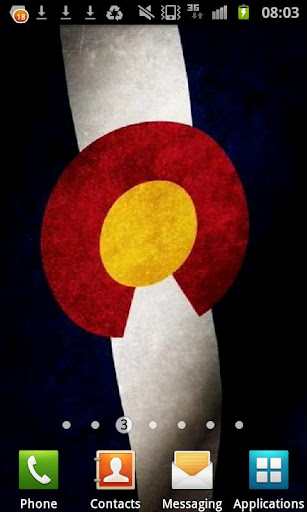 Colorado Flag Live Wallpaper