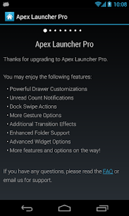 Apex Launcher Pro - screenshot thumbnail