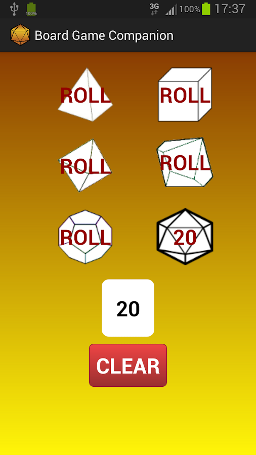 Game Nite Dice - screenshot