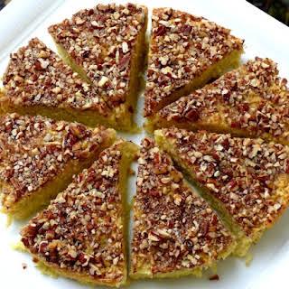 Apple Matzo Cake.
