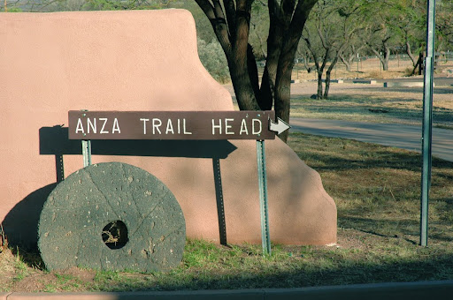 Anza Trail Head