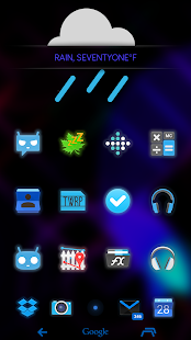 玩個人化App|Neon Moonshine Launcher Theme免費|APP試玩