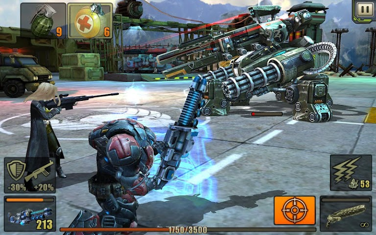 android Evolution: Battle for Utopia Screenshot 15
