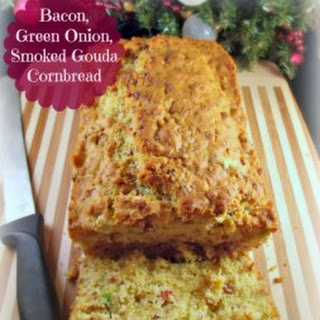 Pacific Foods & Bacon, Green Onion, and Smoked Gouda Cornbread