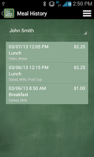 MyLunchMoney - screenshot thumbnail