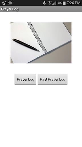 Prayer Log