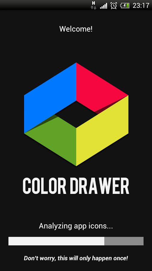 Color App Drawer PRO - screenshot