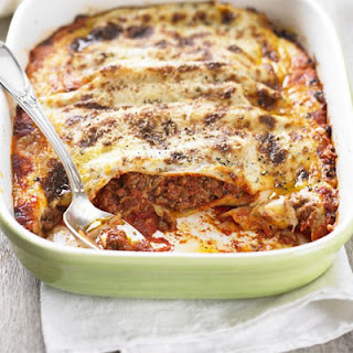 Beef Cannelloni.