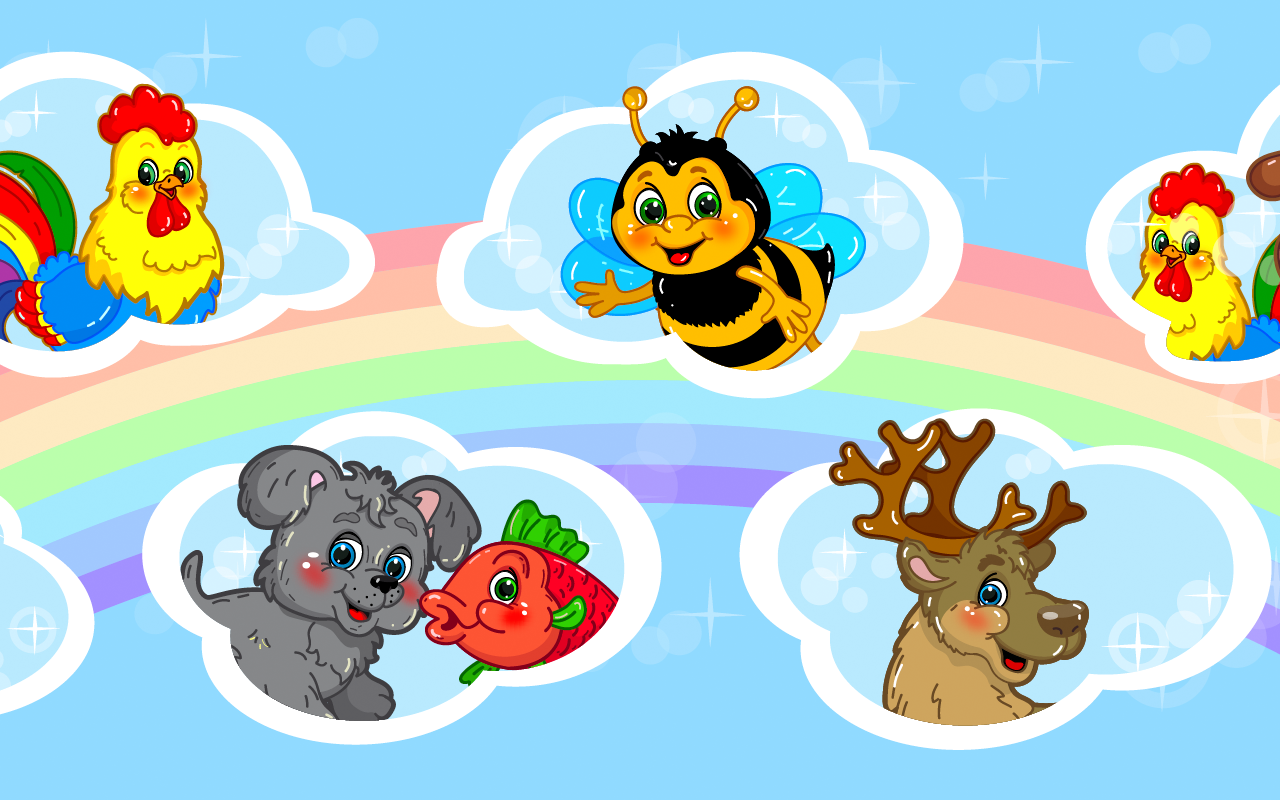 Animal puzzles for toddlers 1+ screenshot #2