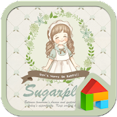 SugarPlum dodol launcher theme