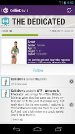 Fitocracy Workout Fitness Log Screenshot 5