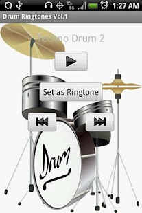 DRUM Ringtones Vol.1 - screenshot thumbnail
