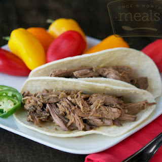 Korean Shredded Beef Tacos