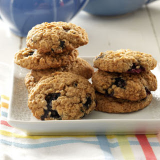 Blueberry Oat Cookies.
