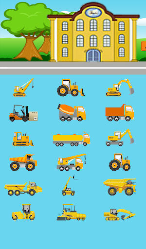 Kids Construction Cars Free
