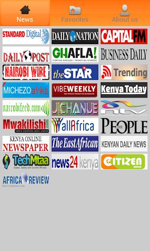 Kenya Newspapers.
