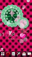 Screenshot of CUTE WORLD ALARM QLOCK Green