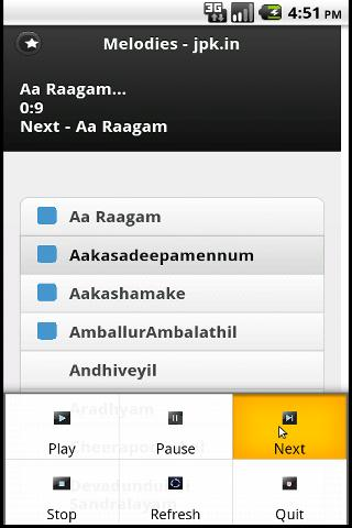 Online Malayalam Songs - screenshot