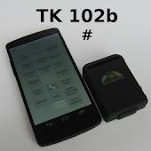 TK 102b # SMS-Codes versenden