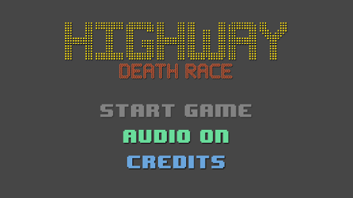 Highway Death Race - The Game