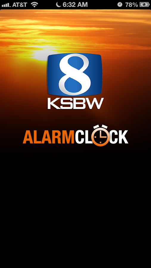 Alarm Clock KSBW 8 Monterey - screenshot