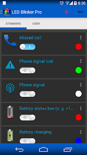 LED Blinker Notifications - screenshot thumbnail