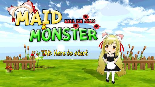 Cute Maid vs Monsters