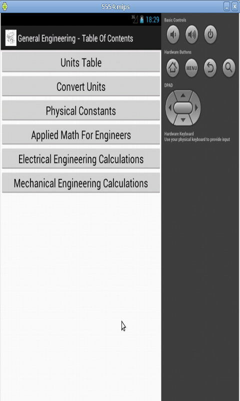 General Engineering Free- screenshot