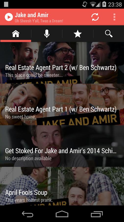 Jake and Amir - Videos/Podcast - screenshot