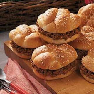 All-American Barbecue Sandwiches.