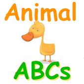 Free ABC Animal Flash Cards
