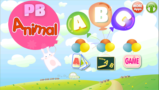 ABC 영어 동물 카드 듣기 쓰기 퍼즐 게임