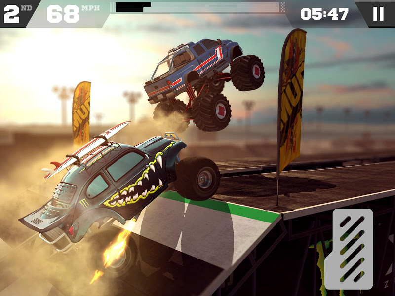 MMX Racing Hack Mod v1.12.8097 APK - Screenshot