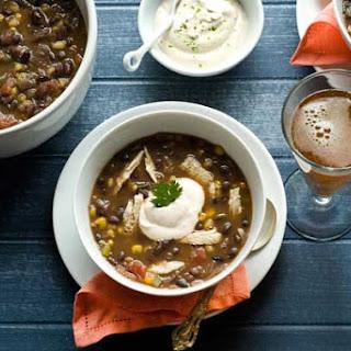 Gluten Free Chipotle Turkey Bean Soup
